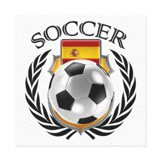 Spain Soccer 2016 Fan Gear Canvas Print
