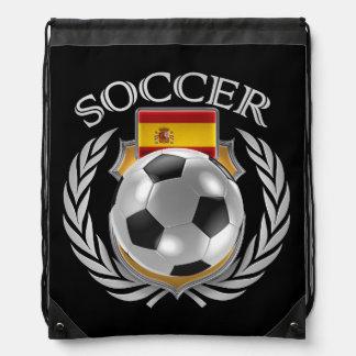 Spain Soccer 2016 Fan Gear Drawstring Bag
