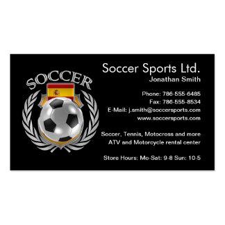 Spain Soccer 2016 Fan Gear Pack Of Standard Business Cards