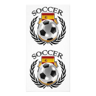 Spain Soccer 2016 Fan Gear Photo Greeting Card