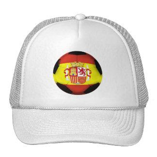 Spain Soccer Ball Trucker Hat