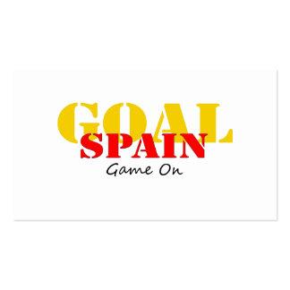 Spain Soccer Business Card Templates