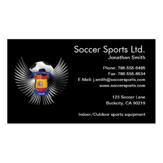 Spain Soccer Champions Pack Of Standard Business Cards