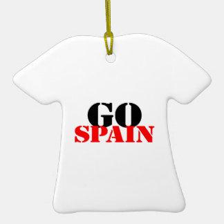 Spain Soccer Ceramic T-Shirt Decoration