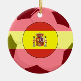 Spain Soccer Fan Ornament 2010 World Cup Champ 2