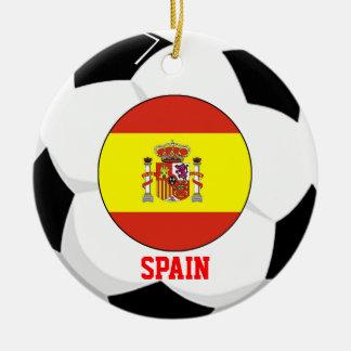 Spain Soccer Fan Ornament 2010 World Cup Champ