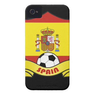 Spain Soccer iPhone 4/4S Case-Mate Barely There