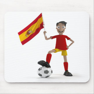 Spain soccer mouse pads
