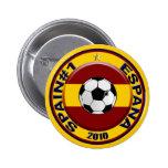 Spain soccer number 1 Soccer Ball 6 Cm Round Badge