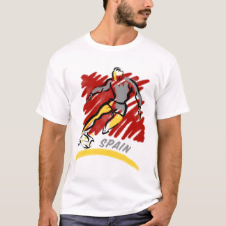 Spain Soccer Swoosh T-Shirts