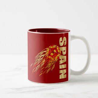 Spain Soccer Two-Tone Mug