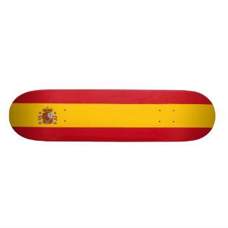 Spain – Spanish Flag 21.6 Cm Old School Skateboard Deck