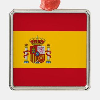 Spain – Spanish Flag Christmas Ornament