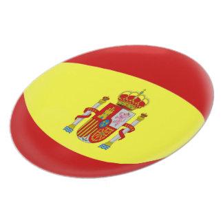 Spain Spanish Flag Plate