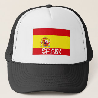 Spain spanish flag souvenir hat