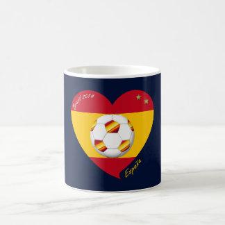 """Spain Spanish Football Soccer Team SOCCER """"SPAIN """" Mugs"""