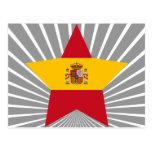 Spain Star Postcard