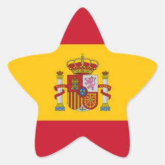 spain star sticker