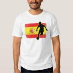 Spain Striker 4 Tshirt