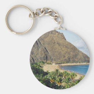 Spain, Tenerife Beach keychain