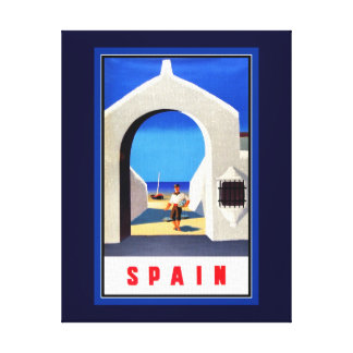 Spain Tourism Canvas Print