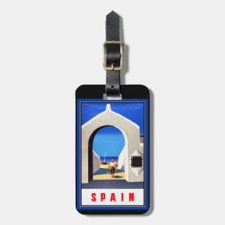 Spain Tourism Luggage Tag