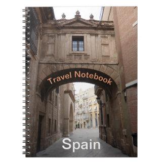 Spain Travel Destination Notebook