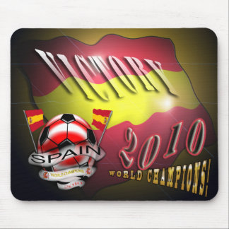 Spain Victory 2010 World Cup World Champions pads Mouse Mat
