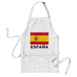 Spain Vintage Flag Standard Apron