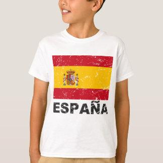 Spain Vintage Flag T-Shirt