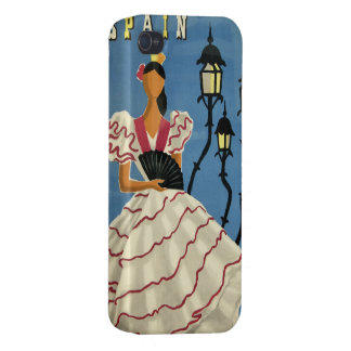 SPAIN Vintage Travel cases Cases For iPhone 4