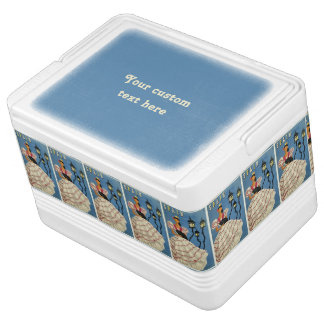 SPAIN Vintage Travel cooler Igloo Cool Box