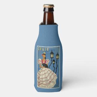 Spain Vintage Travel custom bottle cooler