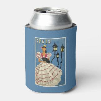 Spain Vintage Travel custom can cooler