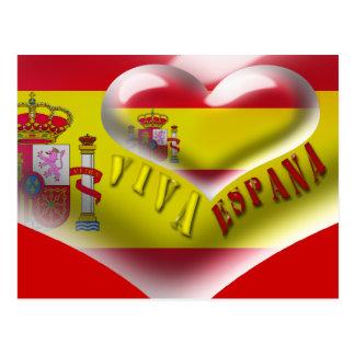 Spain Viva Espana postcard