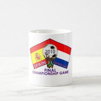 Spain vs. Netherlands final Championship Mug