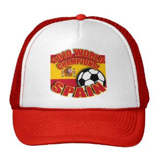 SPAIN WORLD CHAMP 2010 Soccer Tshirts Trucker Hat