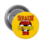 Spain World Champions 2010 Button