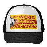 Spain World Champions Grunge 2010 Gift Mesh Hats