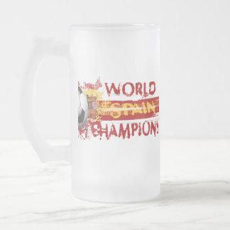 Spain World Champions Grunge 2010 Gift Mugs