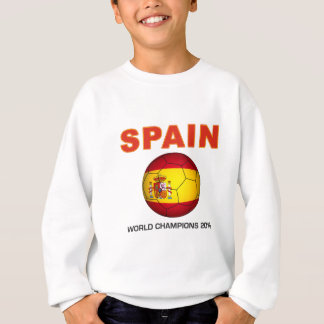 Spain World Cup 2010 Champion South Africa Sweatshirt