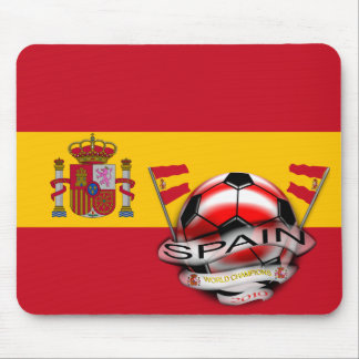 Spain World Cup Coat of Arms World Champs Mousepad