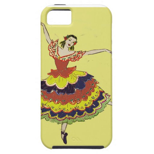 Spainsh Balerina iphone case iPhone 5/5S Covers