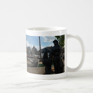 Spakenburg Harbour Panoramic Coffee Mug