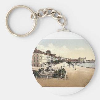 Spalato, the shore and Francisco Giuseppe's Founta Keychain