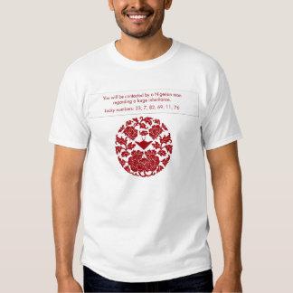 Spam fortune: Nigerian Inheritance Tee Shirts