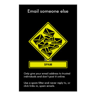 Spam Security Awareness Poster