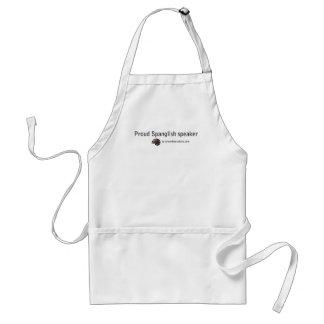 Spanglish collection standard apron