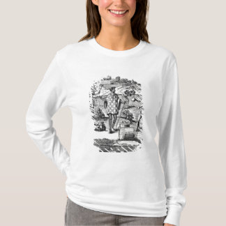Spaniard Bartering with Natives of Patagonia T-Shirt