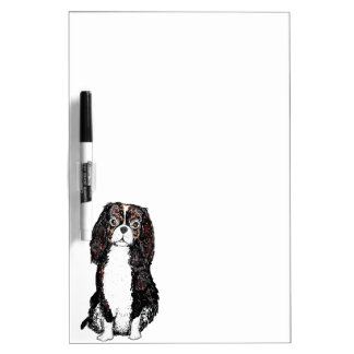 Spaniel Dog Dry Erase Board